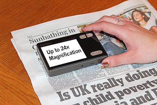 HandyReader HD Newspaper White Text2_w500